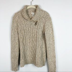 Orvis chunky knit super soft sweater